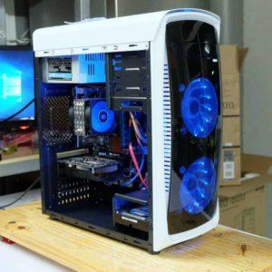 INTEL i7-2600 4C 8T / 8GB / GTX 1050 / 500GB / 580W / CASE อัพเกรดได้