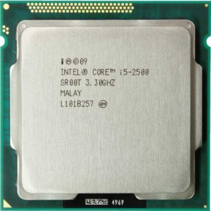 CPU i5-2500 up to 3.7Ghz