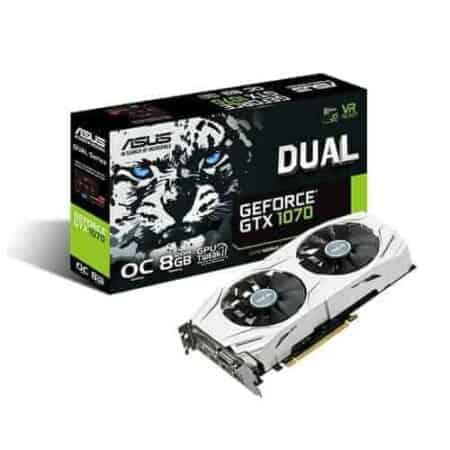 การ์ดจอ GTX 1070 Asus DUAL 8GB มือสอง