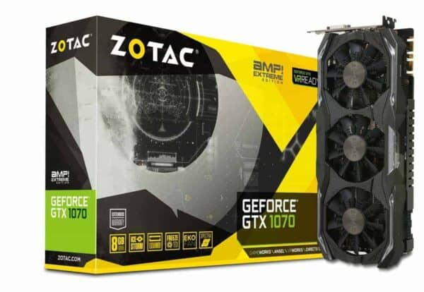 ZOTAC 1070 AMP Extreme มือสอง